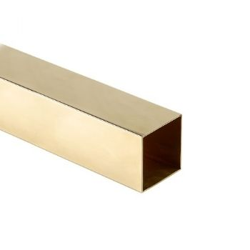 Brass Square Tube - Fine Series